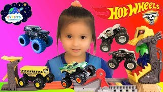 Hot Wheels Monster Jam Front Flip Take down Track set Monster Trucks Tour Favourites Surprise Toys