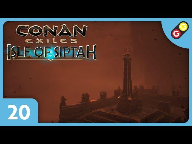 Conan Exiles : Isle of Siptah #20 On teste un piège de convergence ! [FR]