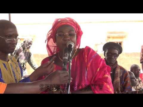 Journée culturelle  d'ADK, 12 juin 2015. Allocution de Mme Adjia Absa Laye Souwaré