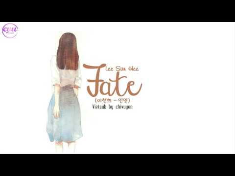 [Vietsub + Engsub + Hangul] Lee Sun Hee (이선희) - Fate (인연)