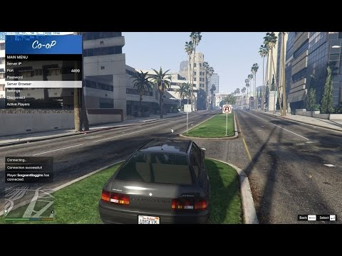 How to Play GTA 5 with the Co op Mod (PC Gameplay)