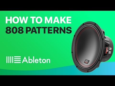 How To Make 808 Patterns in Ableton Live