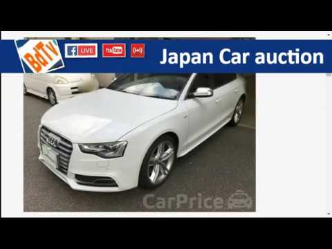 Japan Car Auction Audi S Year Yen YouTube - Audi car auctions