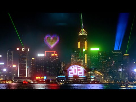 Hong Kong New Year Countdown 香港除夕倒數