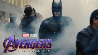 "Battle of Gotham (Batman dark knight rises) Avenger Endgame ""portals"" style"