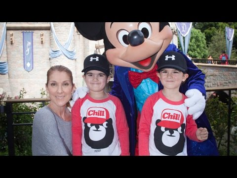Celine Dion's Twin Sons Take Trip to Disneyland, And They've Gotten So Big! Mp3