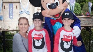 Celine Dion's Twin Sons Take Trip to Disneyland, And They've Gotten So Big!