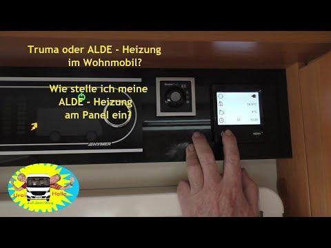 Truma oder ALDE / Einstellung ALDE - Heizung im Wohnmobil