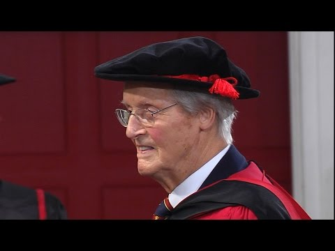 Nicholas Parsons CBE - Honorary Degree - University of Leicester