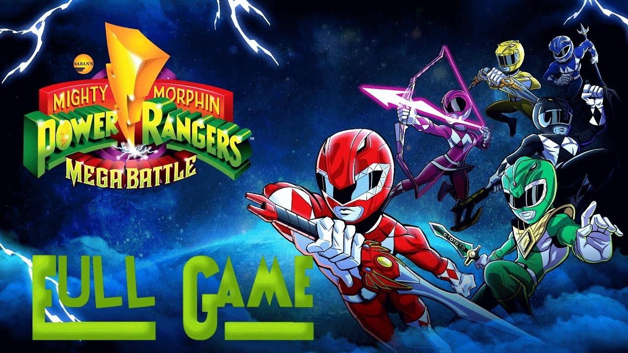 Mighty morphin power rangers: mega battle (full game) youtube.
