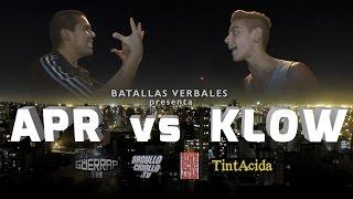 Batalla de Rap: APR vs KLOW @ Sinescritura . CBA . 2015
