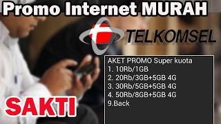 Inilah Tanda Bahwa TELKOMSEL Anda Mendapatkan Paket Promo Internet SUPER MURAH (SAKTI)