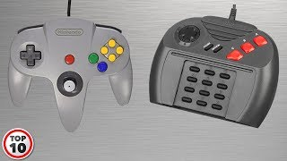 Gambar cover Top 10 Worst Video Game Controllers