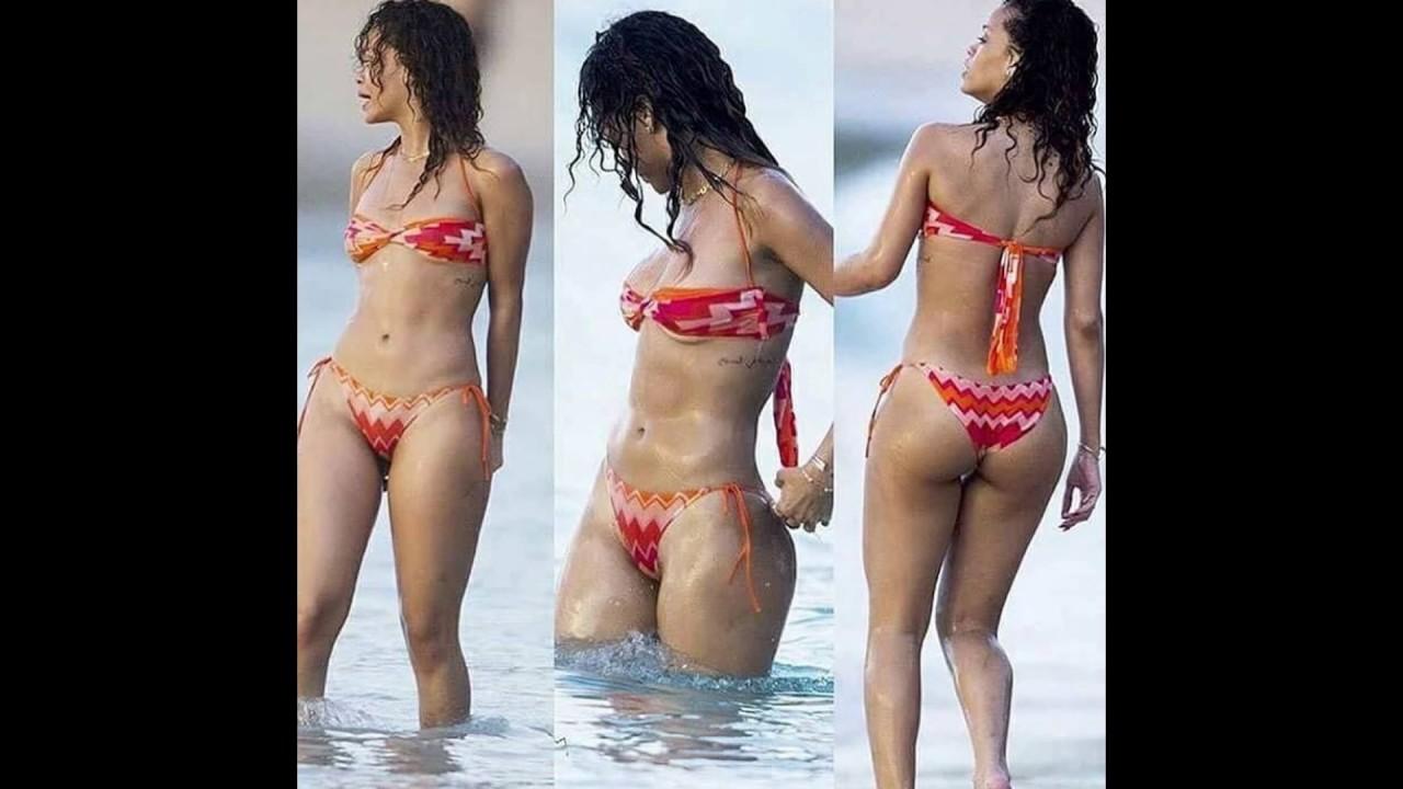 Rihannas Hottest Bikini Compilation 2017 - Youtube-6789