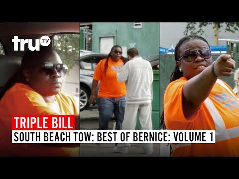 South Beach Tow | Best Of Bernice: FULL EPISODES TRIPLE BILL - Volume 1 | TruTV