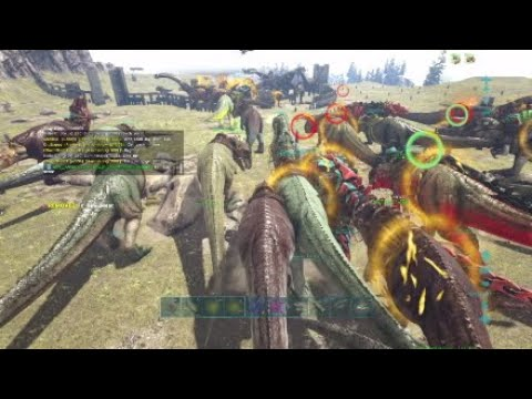 Ark PS4 Official- Server Defense and Counter Fob Push