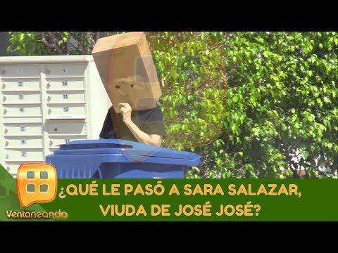 ¿Qué le pasó a Sara Salazar, viuda de José José?   Programa del 14 de octubre de 2019  Ventaneando