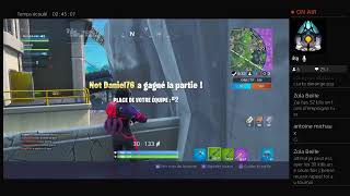 #FORTNITE /A 22H00 30 KILL + TOP 1 = SKIN/FR