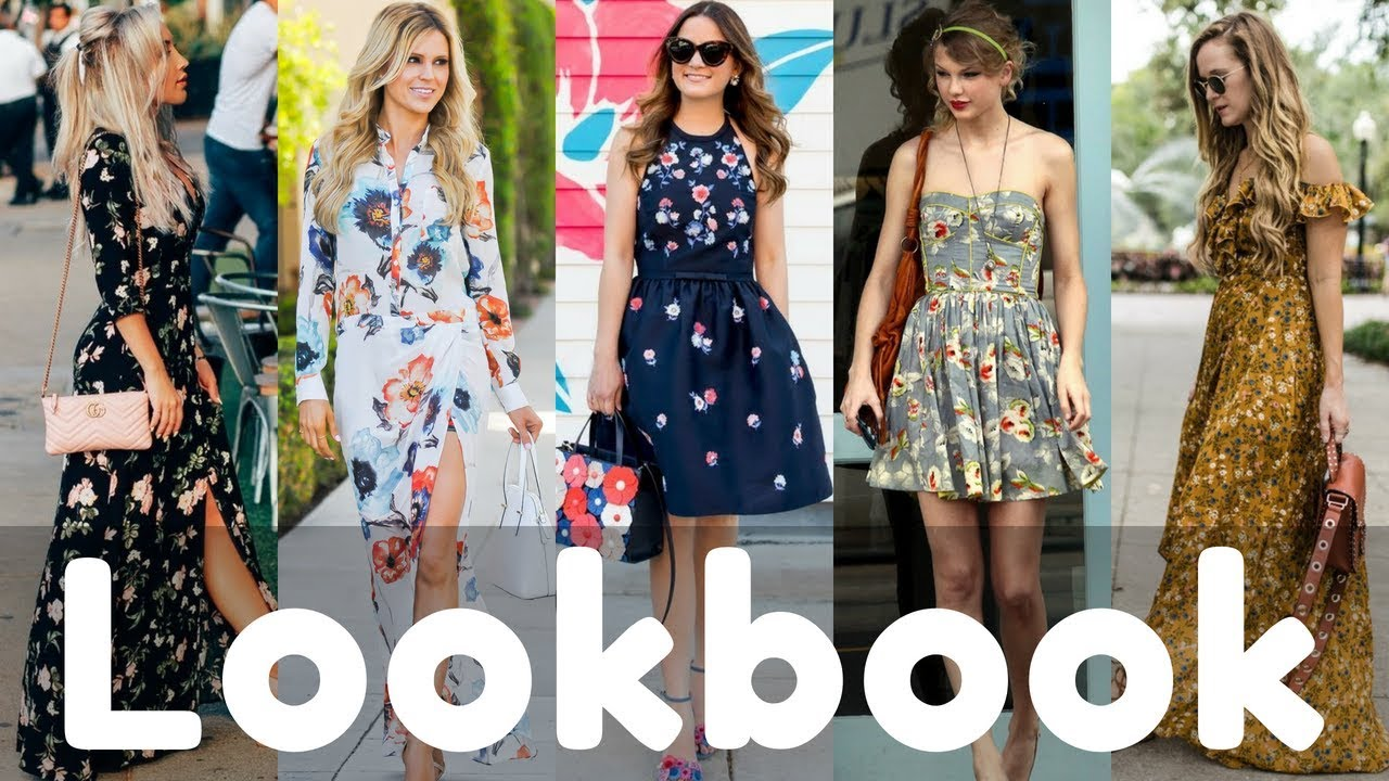 97359d598d757 Trendy Summer Floral Dresses Lookbook 2018 | Summer Fashion Style ...