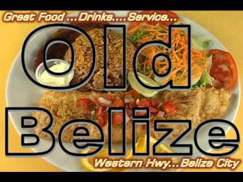 Old Belize Restaurant Ad