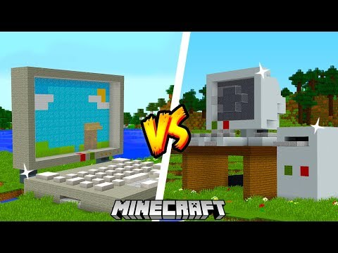 LAPTOP vs KOMPUTER - MINECRAFT