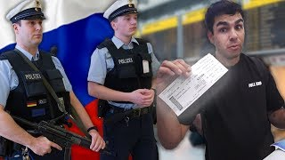 Detained trying to enter Russia...