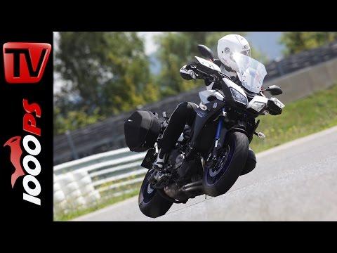 2015 Yamaha MT-09 Tracer Test | Reiseenduro Vergleich