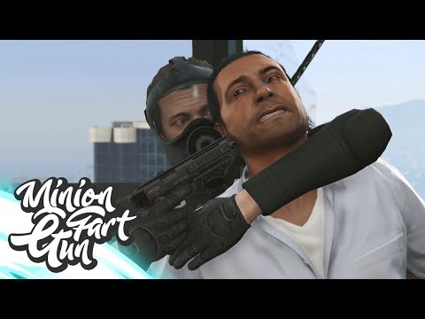 Op Geheime Missie Bij De Central Intelligence Agency! - GTA 5 - MinionFartGun