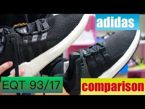 promo code 63a32 90541 小馬教學時間EQT 9317 新舊差異比較!adidas EQT SUPPORT 9317 BB1236 comparison