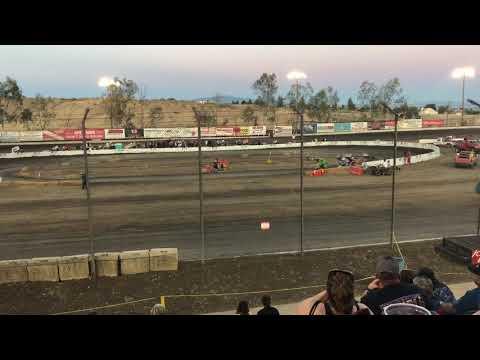 Outlaw Karts Heat 1 Bakersfield Speedway 4-27-19