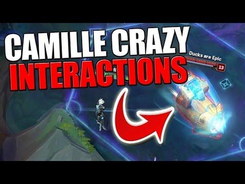 видео: [lol] 19 крутых взаимодействий Камиллы