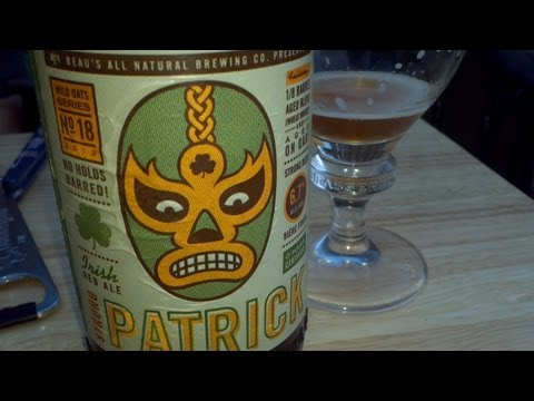 Beau's Strong Patrick Irish Red Ale - #410 - Maxwell Starr's Beer Review