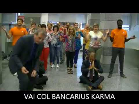 Video banca intesa BANCARIUS KARMA