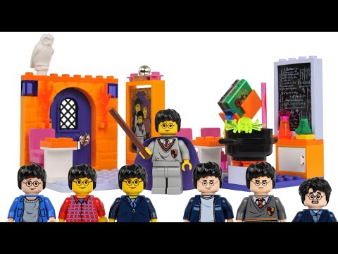 2001 LEGO Harry Potter 4721 Hogwarts Classrooms Review!