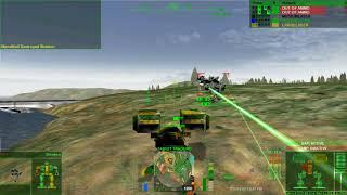 Mercs Online Test - MechWarrior 4 Mercs HD Online Play
