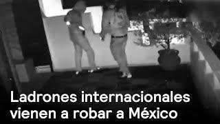 Ladrones internacionales en México - Inseguridad - En Punto con Denise Maerker thumbnail