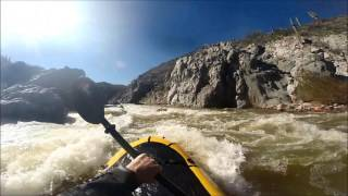 Tonto Creek packrafting
