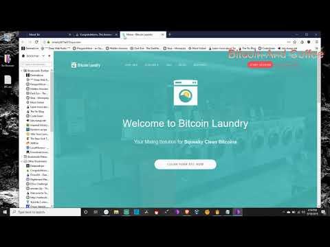#DarkWeb - Bitcoin Mixer