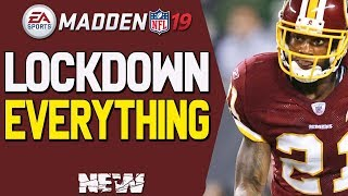 NEW LOCKDOWN DEFENSE IN MADDEN 19!! SHUT DOWN EVERYTHING!! TIPS