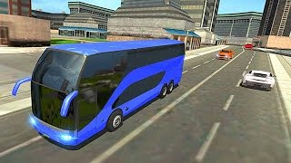 City Coach Bus Simulator 2016 (by Zaibi Games Studio) Android Gameplay [HD]