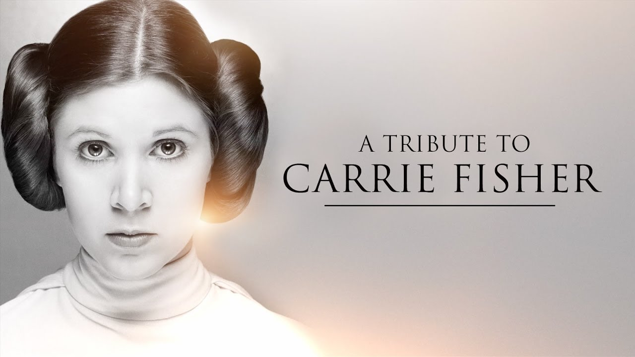 Star Wars Carrie Fisher Tribute  Princess Leia And Rogue One Explained
