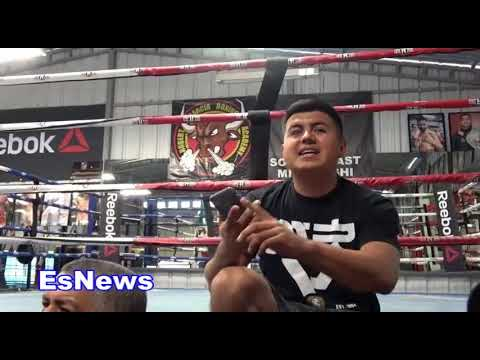 Mikey Garcia Goes In On People Who Say GGG Beat Canelo EsNews Boxing