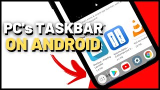 AMAZING!! PC's TASKBAR ON ANDROID PHONE!! screenshot 4