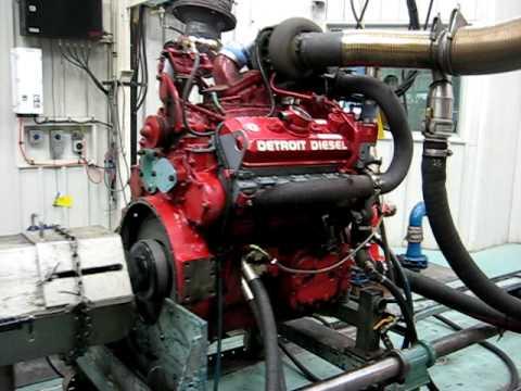 Detroit Diesel 500hp 6v92ta Ddec3 Titan Fire Truck Engine