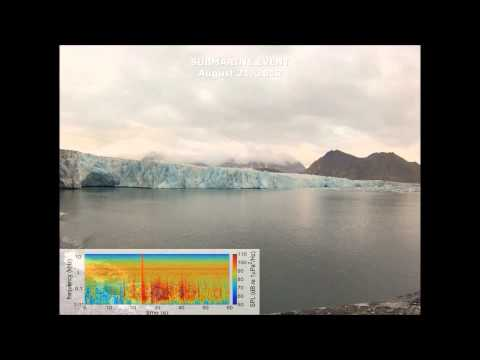 Geophysical Research Letters : Underwater acoustic signatures of glacier calving