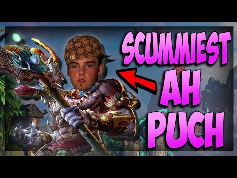 Smite: The SCUMMIEST Ah Puch Build! - Masters Ranked Duel