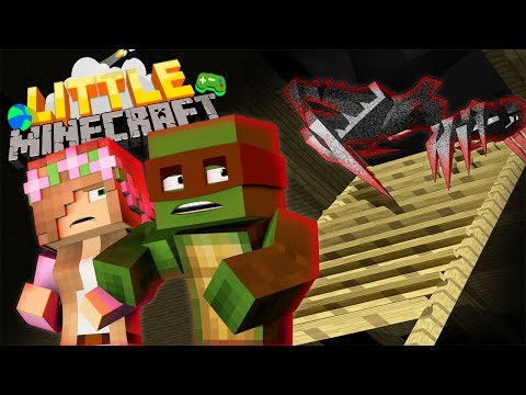 WHAT'S IN THE ATTIC?!! - Little Minecraft The Series #8
