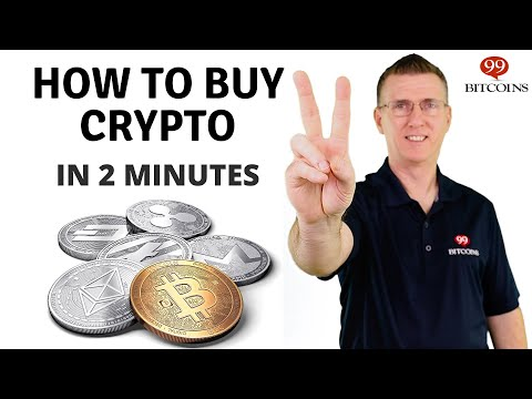 How To Buy Cryptocurrency (in 2 Minutes) - 2021 Updated