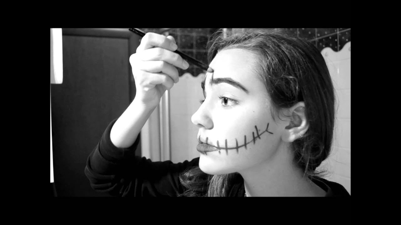 Famoso Make Up Halloween -Semplice Trucco Halloween - YouTube ZM77