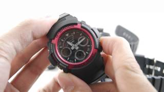 review casio g shock aw 590 aw 591